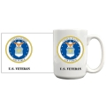US Air Force Seal Patch Coffee Mug